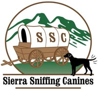 Sierra Sniffing Canines logo